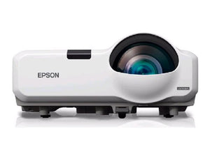 Epson PowerLite 435W WXGA 3LCD Short Throw Projector 3000 Lumens HDMI