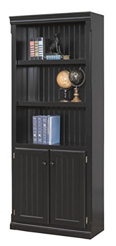 kathy ireland Home by Martin Southampton Library Bookcase - Fully Assembled