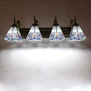 Tuersuer Bright Lights at Night Wall lamp Jane European Garden Lighting Bathroom Wrought Iron Mirror Headlights TV Wall Aisle Lamps
