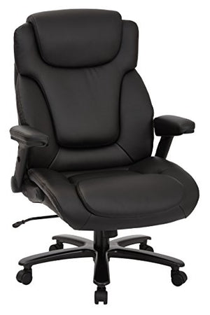 Pro-Line II 39200-osp Big and Tall Deluxe High Back Executive Chair, Black