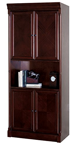 Martin Furniture Mount View Library Bookcase - Fully Assembled