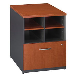 Bush Business Furniture Series C Collection 24W Piler Filer in Auburn Maple