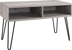 "Ameriwood Home Owen Retro TV Stand for TVs up to 42"", Weathered Oak"