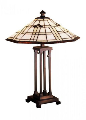 Meyda Tiffany 50281 Two Light Table Lamp