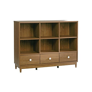 Sauder 416925 Console Bookcase, Fine Walnut Finish