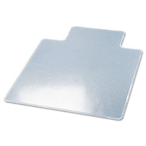 deflect-o Products - deflect-o - RollaMat Studded Beveled Mat for Medium Pile Carpet, 45w x 53l, Clear - Sold As 1 Each - Studded, protective vinyl. - For medium pile carpeting. - Transparent color allows carpeting to show through. - Beveled edge. - Stron