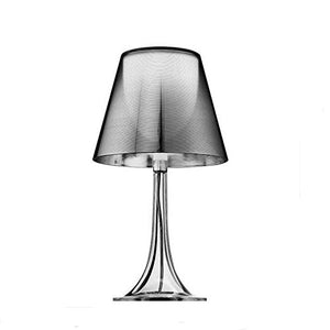 Flos Miss K Table Lamp Aluminized Silver F6255000 Design Philippe Starck