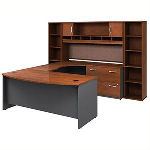 Bush Business Series C 6-Piece U-Shape Right-Hand Corner Desk