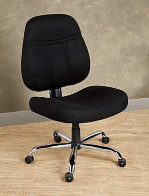 1,000-lb. Capacity Office Chair - Black