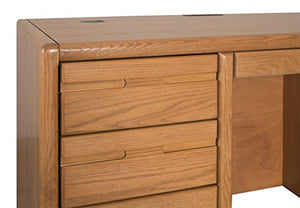 "Martin Furniture 006701/X Contemporary 60"" Double Pedestal Desk"