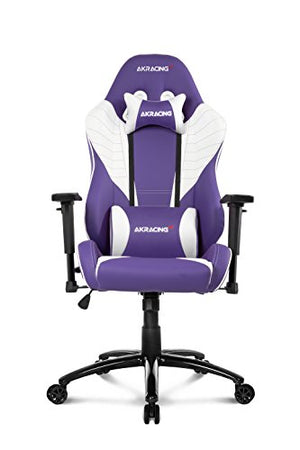 AKRacing Core Series SX Gaming Chair with High Backrest, Recliner, Swivel, Tilt, Rocker and Seat Height Adjustment Mechanisms with 5/10 Warranty - Lavender