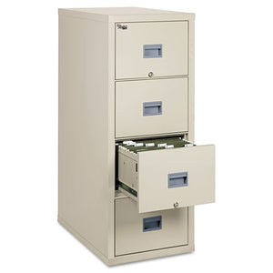 "FireKing Patriot Series 4-Dr Vertical Fire Files-Fire Proof Filing Cab, 4-Drwr, 17-3/4""x31""x52-3/4"", PHT"