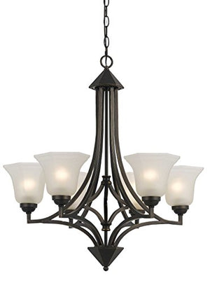 Cal Lighting FX-3551/6 Six Light Chandelier