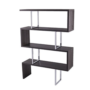 Furniture HotSpot Free Standing Etagere Bookcase - 3 Tier Bookshelf - Open Concept