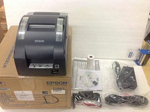 Epson C31C514653 TM-U220B RECEIPT PRINTER - TWO-COLOR - DOT-MATRIX - 6 LPS - 16 CPI - 9 PIN PRINT