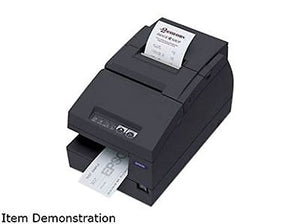 Epson C31C283A8711 TM-U675 Printer 46 Lines Per Second USB-UB-U03 Interface No MICR and Autocutter - Requires PS180 Power Supply - Color Dark Gray