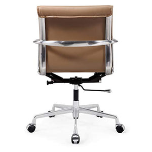 Meelano 347-BRN M347 Home Office Chair, Brown