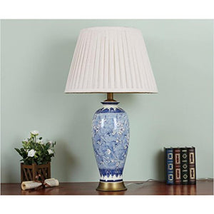 505 HZB The Bedside Lamp Of The Ceramic Desk Lamp In The American Style Living Room