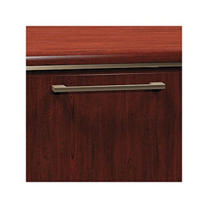 Bush Business Furniture Enterprise Collection 72W x 72D L Shaped Desk in Harvest Cherry