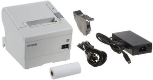 "Epson C31CA85014 TM-T88V Direct Thermal Receipt Printer Serial Plus USB ECW, Monochrome, 5.8"" Height x 5.7"" Width x 7.7"" Depth"