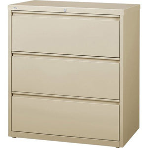 Lorell LLR88027 3-Drawer Lateral Files, 36""