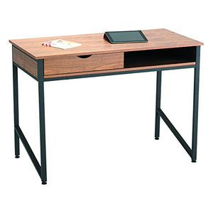 Safco Products 1950BL Studio Single Drawer Desk, Black