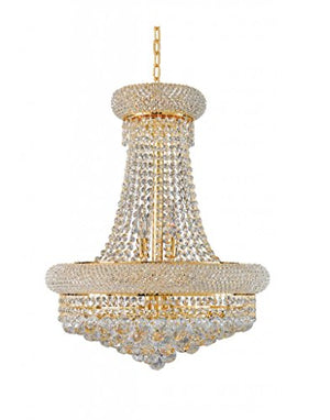Artistry Lighting Primo Collection Crystal Chandelier Gold