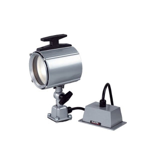 Electrix 7701 GRAY Waterproof Machine Light, Halogen, Remote Transformer, Surface Mounting, 55W, 950 Raw Lumens