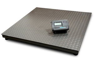 "5500lbs capacity floor scale 40""x40"" durable pallet scale fit for 48""x40"" standard pallet."