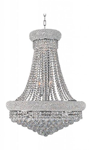 Artistry Lighting Primo Collection Crystal Chandelier Chrome