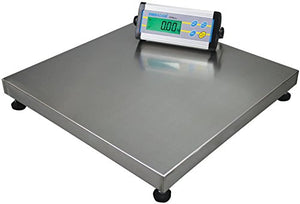 Adam Equipment CPWplus 75M Floor Scale, 165lb/75kg Capacity, 0.05lb/20g Readability