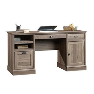 Scranton & Co Executive Desk in Salt Oak
