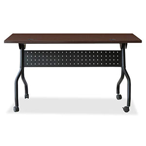 Lorell 59518 Preference Training Table, Black,Mahogany