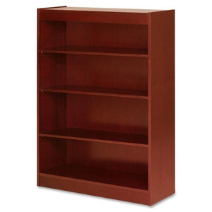 LLR89052 - Lorell Four Shelf Panel Bookcase