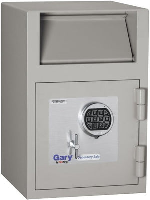Gary by FireKing FB2114-RE Single-Door Depository Safe with Electronic Combination Lock, 21 x 14 x 14 Inches