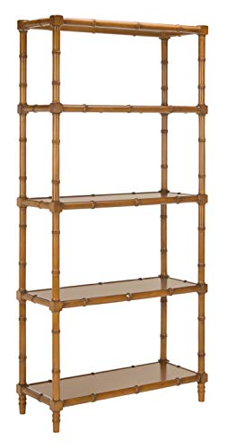 Safavieh ETG3500D Home Collection Ebo Modern Coastal 4 Tier Etagere, Brown