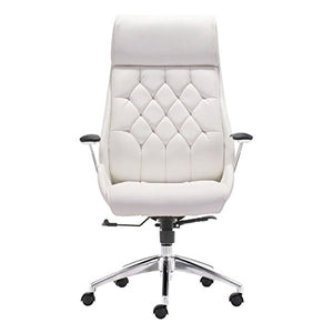 Zuo Modern 205891 Boutique Office Chair, White