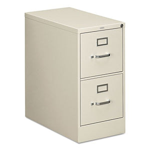 HON 312PQ 310 Series Two-Drawer, Full-Suspension File, Letter, 26-1/2d, Light Gray