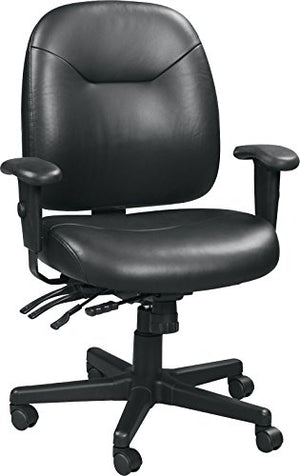 Eurotech Seating 4x4 LE LM59802A-BLKL Slider Swivel Chair, Black