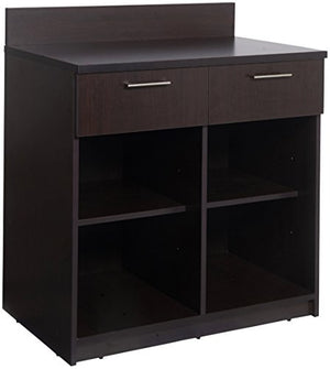 "Breaktime 1 Piece Group Model 2089 Break Room Lunch Room Cabinet""Ready-To-Install/Ready-To-Use"", Color Espresso"