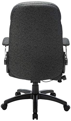 Mayline 6446AG2110 Comfort Series Big and Tall 500 lb. Task Chair with Pivot Arms, Gray/Charcoal