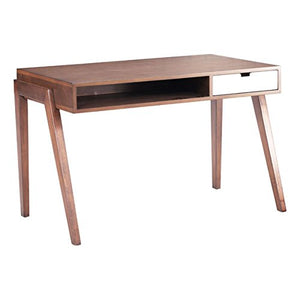 Zuo Linea Desk, Walnut