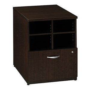 Bush Business Furniture Series C Collection 24W Piler Filer in Mocha Cherry