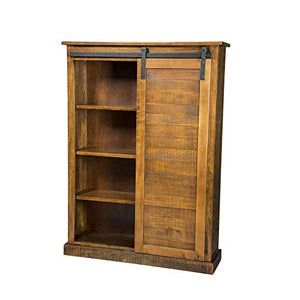 Sunny Designs Santa Fe Barn Door Bookcase