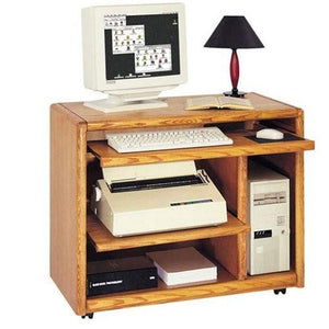 Martin Furniture Contemporary Computer Cart, Fully Assembled