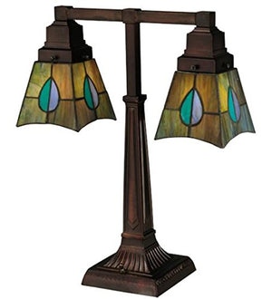 "Meyda Tiffany 24284 Lighting 19.5"" Height Copper"