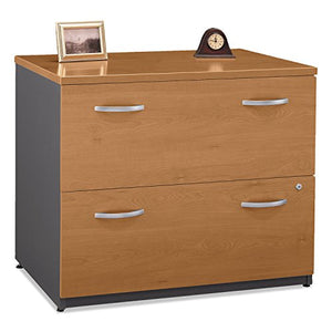 Bush WC72454ASU Series C Collection 2 Drawer 36W Lateral File (Assembled), Natural Cherry