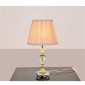 505 HZB Crystal Lamp Bedroom Bedside Lamp European Study Room Lamp