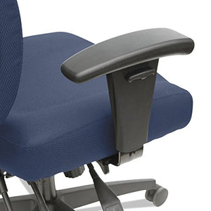 Alera ALEHPM4202 Wrigley Series High Performance Mid-Back Multifunction Task Chair, Blue