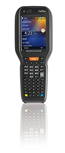 Datalogic Scanning 945250052 Falcon X3+ Mobile Computer, CE 6.0, Pistol Grip, 52-Key Alpha Numeric, High Performance Green Spot Laser